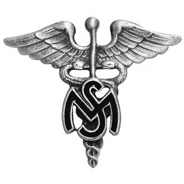 Army Officer Branch of Service Collar Device: Medical Service