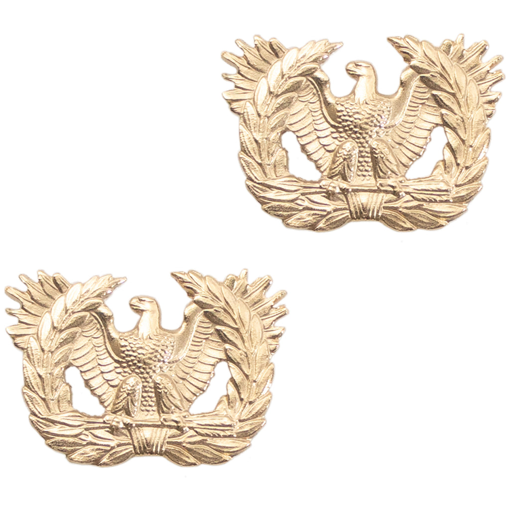 Army Officer Branch of Service Collar Device: Warrant Officer - 22k gold plated