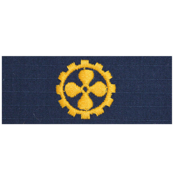 Coast Guard Embroidered Collar Device: Marine Safety Specialist Engineer - Ripstop fabric