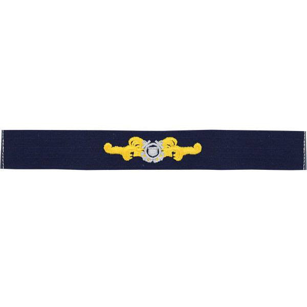 Coast Guard Auxiliary Embroidered Badge: Cutterman - Ripstop fabric