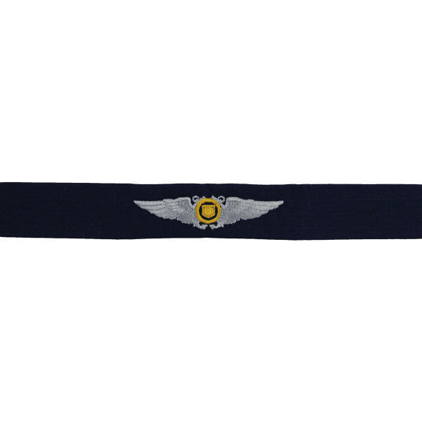 Coast Guard Auxiliary Embroidered Badge: Aviator Wings - Ripstop fabric
