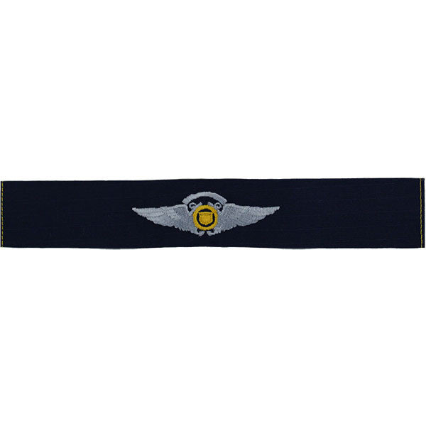 Coast Guard Auxiliary Embroidered Badge: Air Crew Wings - Ripstop fabric