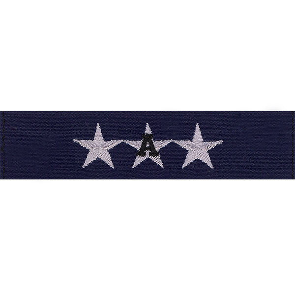 Coast Guard Auxiliary Collar Device: NACO - Ripstop fabric