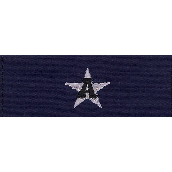 Coast Guard Auxiliary Collar Device: DCO - Ripstop fabric
