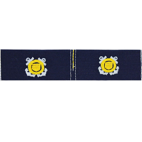 Coast Guard Auxiliary Collar Device: Member - Ripstop fabric