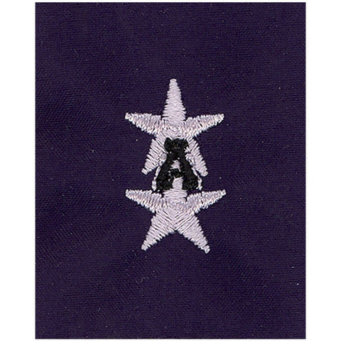 Coast Guard Auxiliary Jacket Tab: VNACO and DNACO