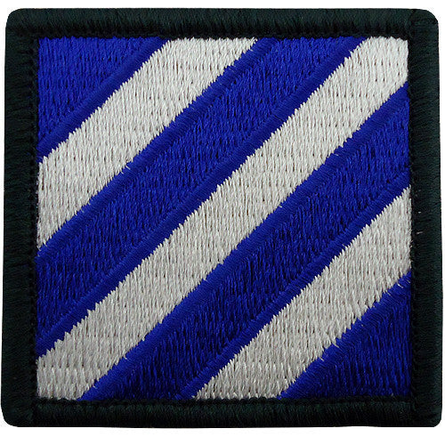 Army Patch: Third Infantry Division - color