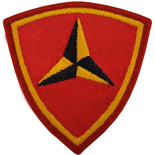 Marine Corps Shoulder Patch: Third Division - color