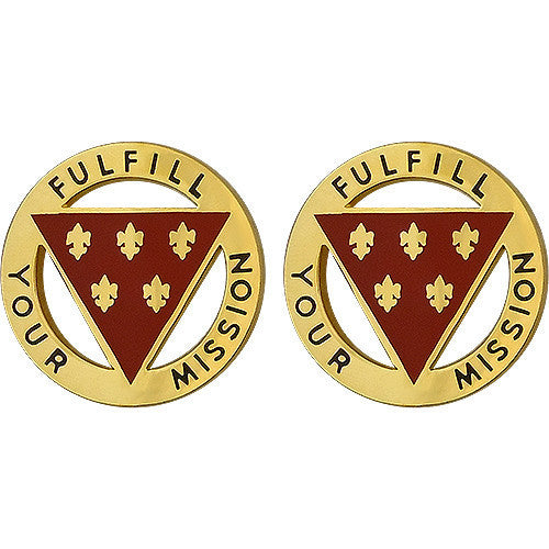 Army Crest: 3rd Infantry Division Artillery - Fulfill your Mission