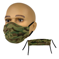 OCP Jersey Knit Cotton Face Mask with Adjustable Ear Loops