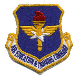 Air Force Patch: Air Education and Training Command: AETC - color
