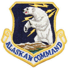 Air Force Patch: Alaskan Command - color
