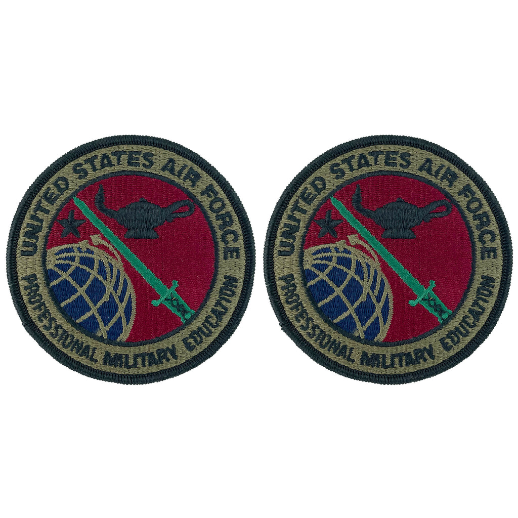Air Force Patch: Professional Military Education - subdued (NONREFUNDABLE)