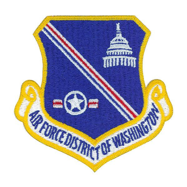 Air Force Patch: District of Washington - color