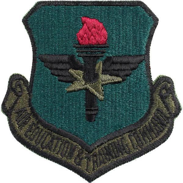 Air Force Patch: Air Education and Training Command - subdued (NON-REFUNDABLE)