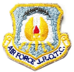 Air Force JROTC Patch wiith Hook Closure : Air Force JROTC - color