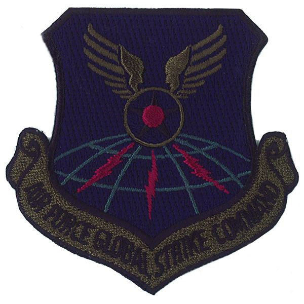 Air Force Patch: Global Strike Command - subdued (NON-REFUNDABLE)
