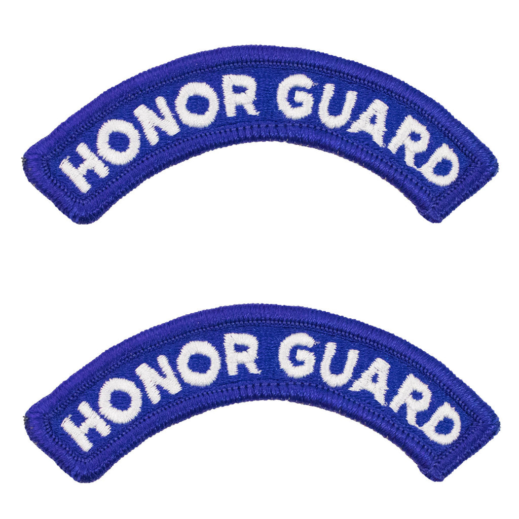Army Embroidered Tab: Honor Guard - color