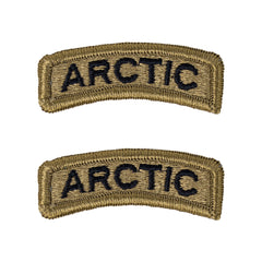 Army Tab: Arctic - embroidered on OCP