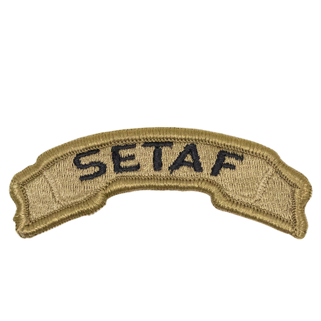 Army Tab: Africa and Southern European Task Force - embroidered on OCP
