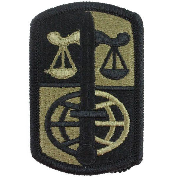 Army Patch: Legal Services Agency - embroidered on OCP