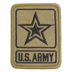 Army Patch: US Army Star Logo - embroidered on OCP