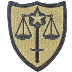 Army Patch: US Army Trial Defense Service - embroidered on OCP