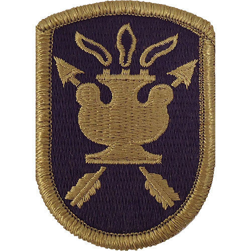 Army Patch: JFK Special Warfare Center - embroidered on OCP