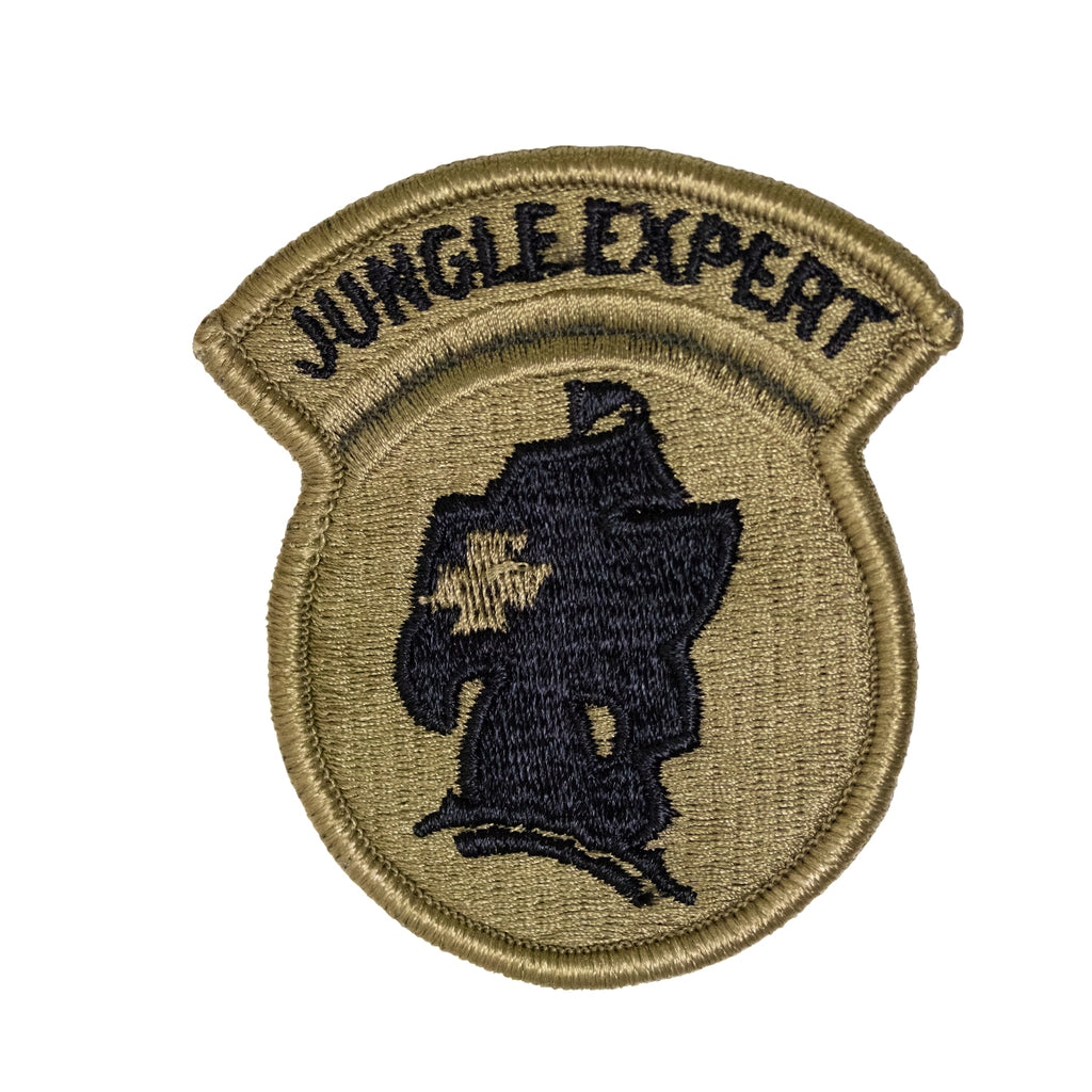Army Patch: Jungle Expert - embroidered on OCP
