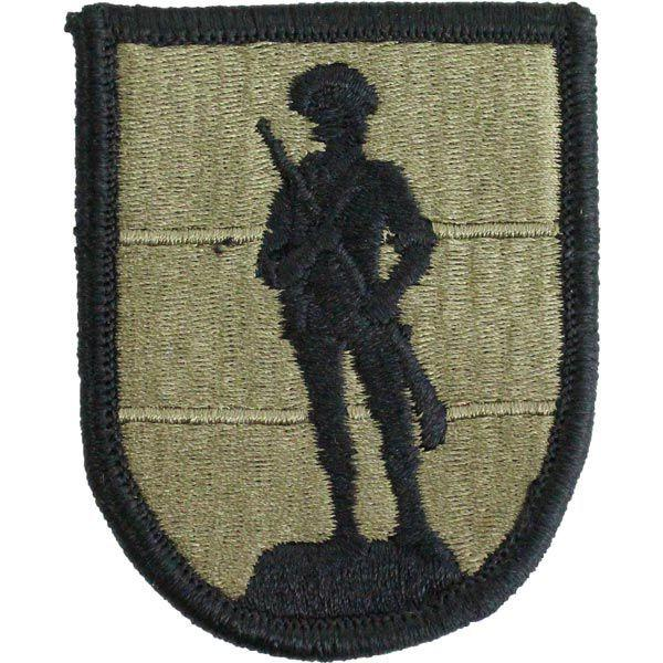 Army Patch: Army National Guard School - embroidered on OCP