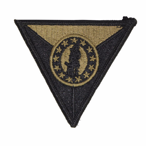 Army Patch: National Guard Trainging Center Garrison Command for wear on Army OCP Uniform