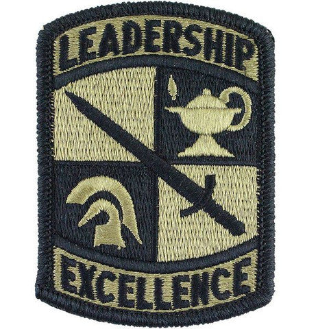 Army ROTC Patch: Leadership Excellence - embroidered on OCP