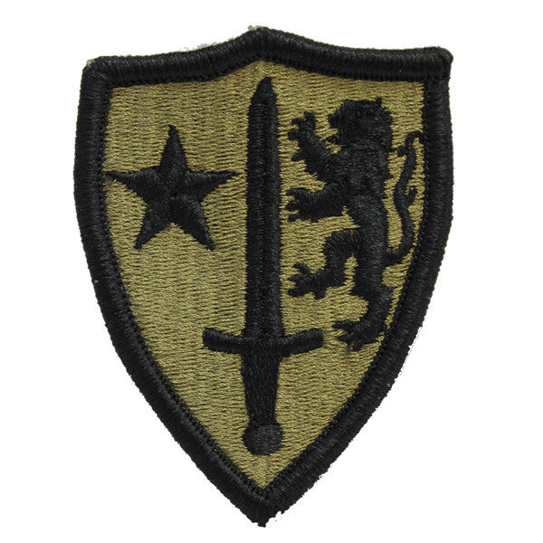Army Patch: North Atlantic Treaty Org (NATO) - embroidered on OCP