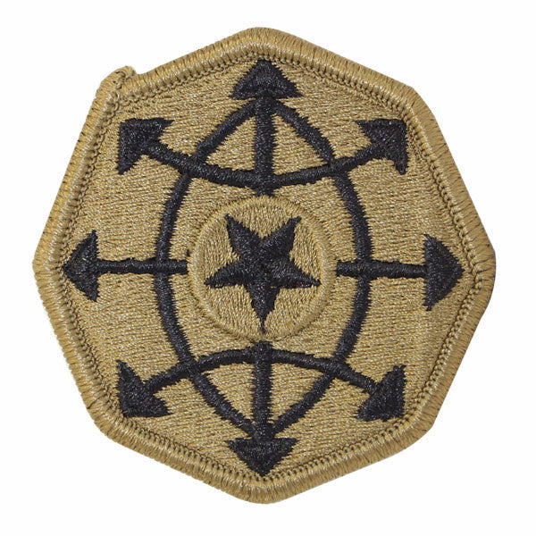 Army Patch: Criminal Investigation Command - embroidered on OCP