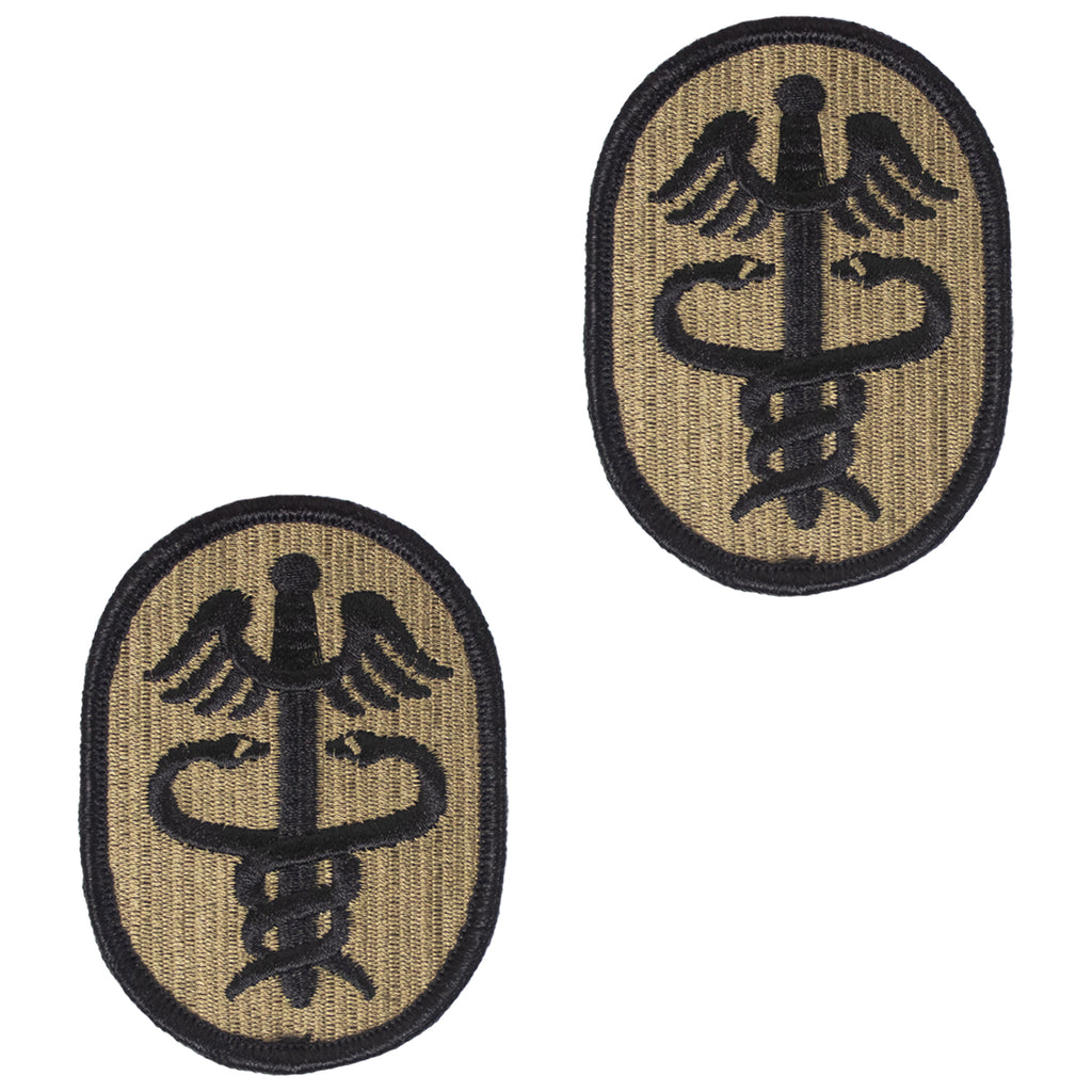 Army Patch: Health Services Command - embroidered on OCP