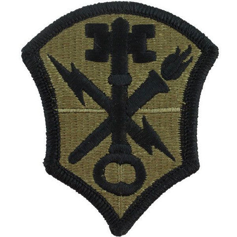 Army Patch: Intelligence and Security Command - embroidered on OCP
