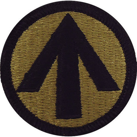 Army Patch: Military Surface Deployment - embroidered on OCP