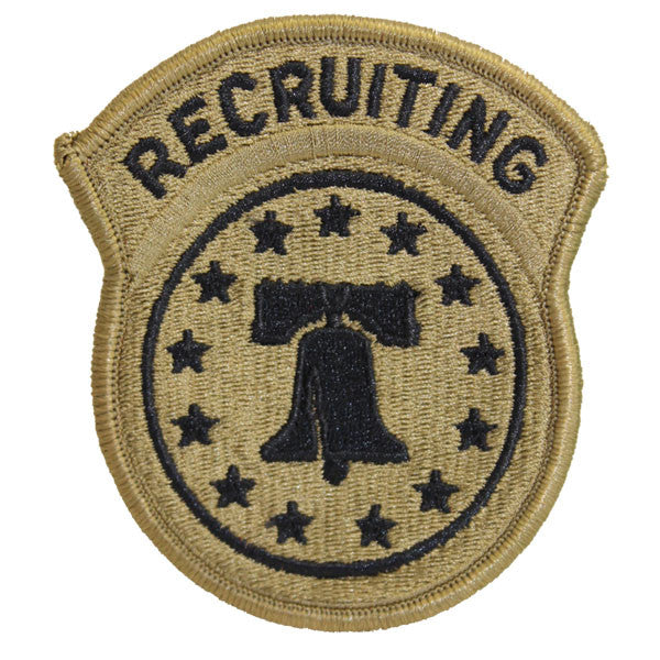 Army Patch: Recruiting Command - embroidered on OCP