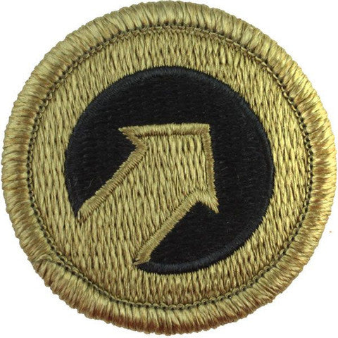 Army Patch: First Support Command - embroidered on OCP