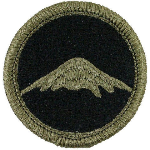 Army Patch: U.S. Army Japan - embroidered on OCP