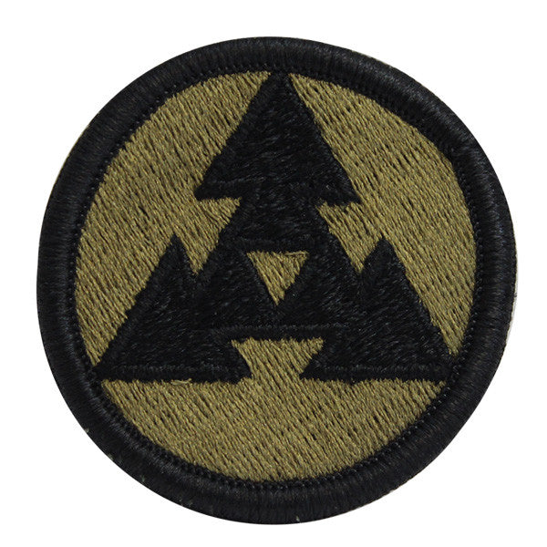 Army Patch: 3rd Sustainment Command - embroidered on OCP