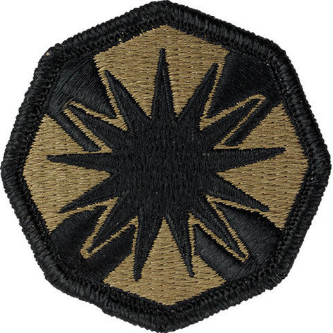 Army Patch: 13Th Support Command - embroidered on OCP