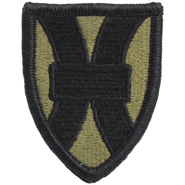 Army Patch: 21st Sustainment Command - embroidered on OCP