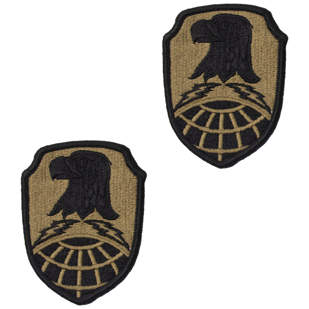 Army Patch: Space and Missile Defense Command / Army Forces Strategic Command - embroidered on OCP