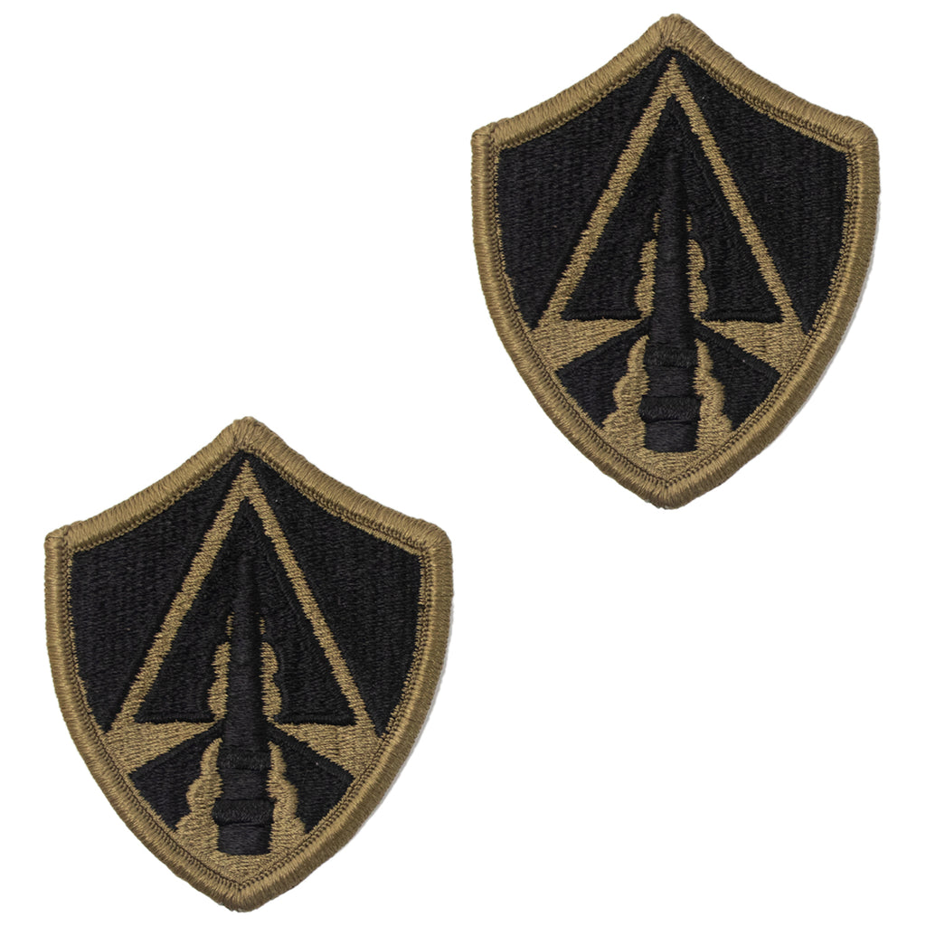Army Patch: Space Command - embroidered on OCP