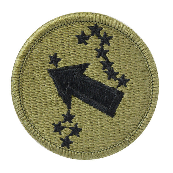 Army Patch: U.S. Army Pacific Western Command - embroidered on OCP