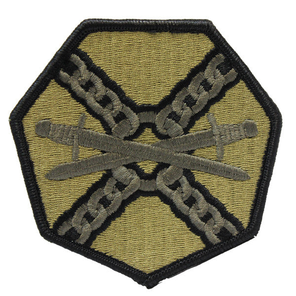 Army Patch: Installation Management Command - embroidered on OCP