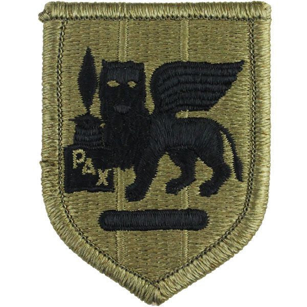 Army Patch: Africa and Southern European Task Force - embroidered on OCP