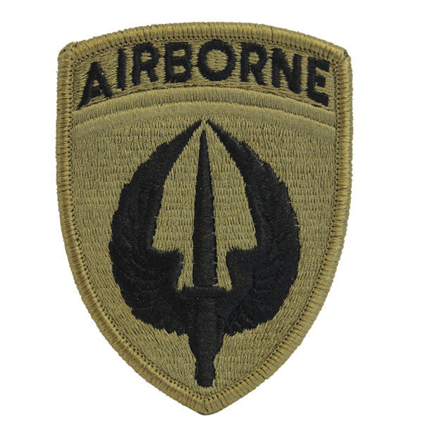 Army Patch: Special Operations Aviation Command embroidered on OCP