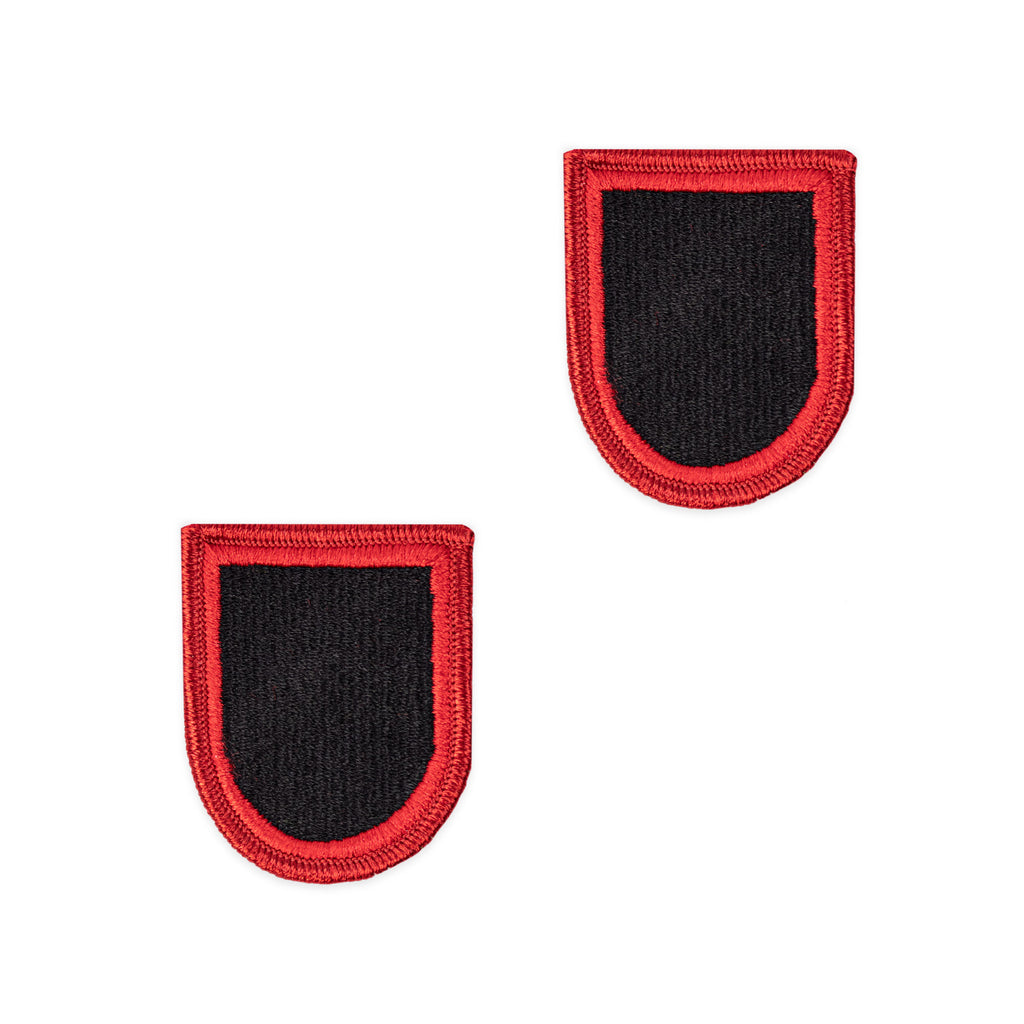 Army Flash Patch: Special Operations Command - red and black